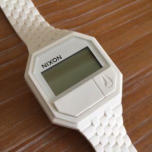 Nixon Unisex White Watch